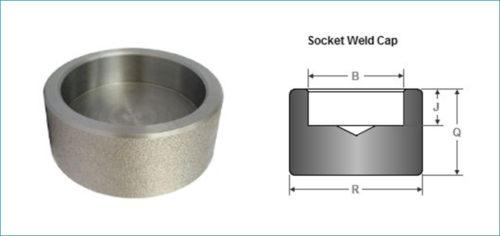 Stainless Steel Socketweld End Cap