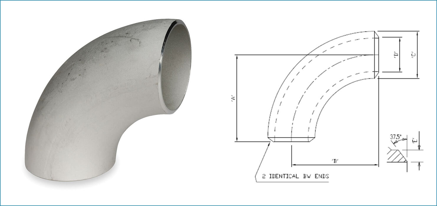 Stainless Steel Long Radius Elbow