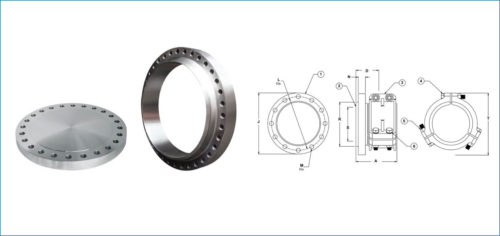 Stainless Steel ANSI-B16.47 Flanges