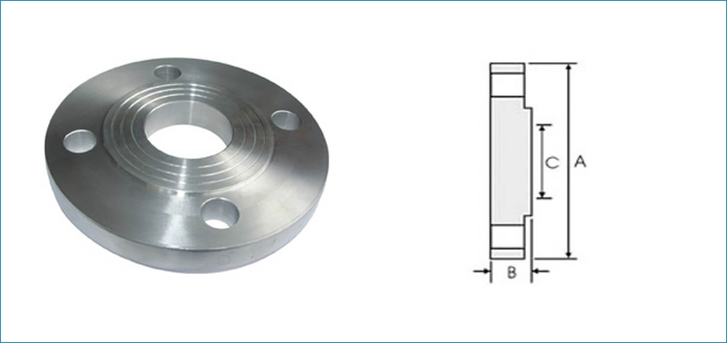 Stainless Steel BS 4504 Flanges