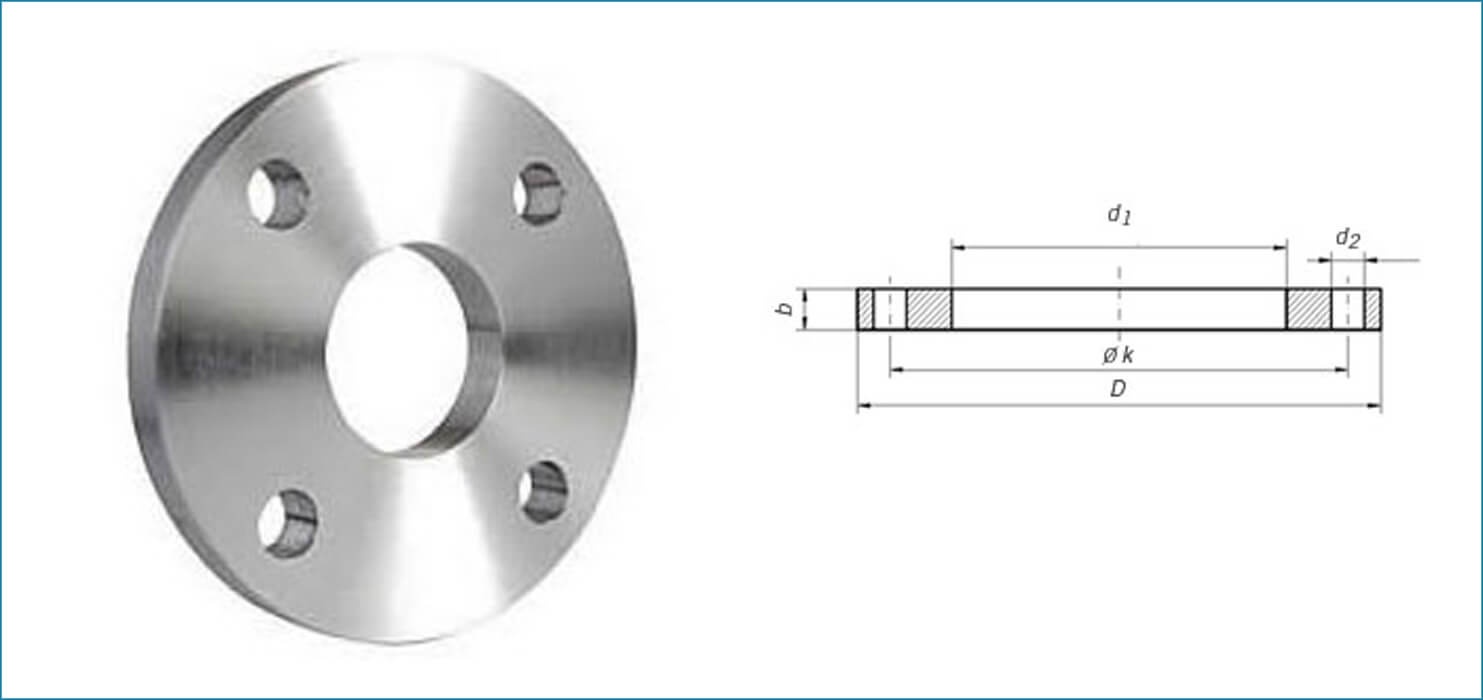Stainless Steel EN1092-1 Flanges