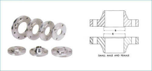 Stainless Steel Male & Female Flanges